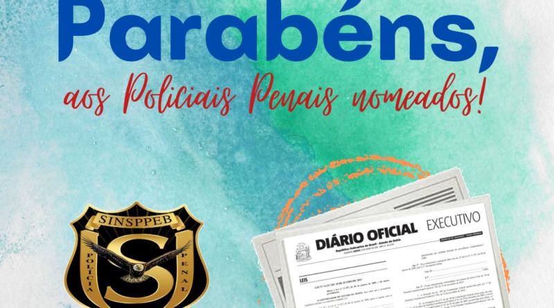 SINSPPEB parabeniza recém nomeados e convida a conhecer a sede administrativa do Sindicato